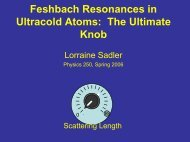 Feshbach Resonances in Ultracold Atoms