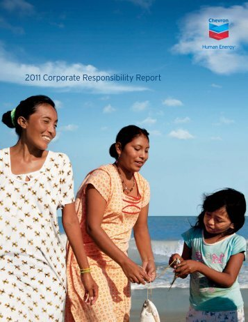 Chevron Corporate Responsibility Report 2011