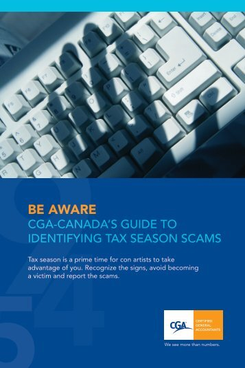 CGA-Canada's Guide to Identifying Tax Season Scams - Certified ...