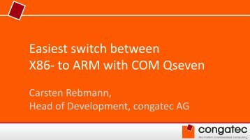 to ARM with COM Qseven - ICC Media GmbH