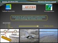 Evaluation des géocomposites multifonctions dans le ... - LTHE