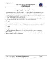 Labor Condition Application for Nonimmigrant Workers ETA Form ...