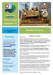 News Letter September 11