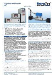 Datenblatt LMF - TetraTec Instruments GmbH
