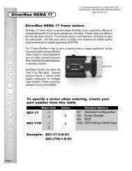 SilverMax NEMA 17 - Minarik