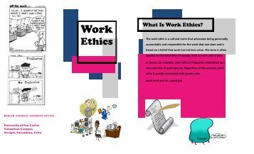 Work Ethics - University of San Carlos