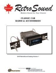 RetroSound - K&M Classic Auto Parts