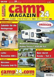 Camp Magazin 24 - Behl Mobile