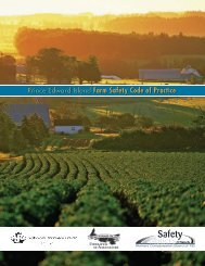 Farm Safety Code of Practice - Workers Compensation Board of ...