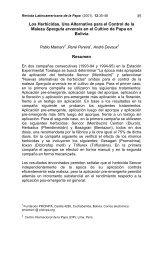 Los Herbicidas, una Alternativa para el Control de la Maleza Spergu ...