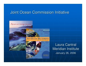 Joint Ocean Commission Initiative