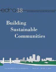 EDRA 38 - Bissell - Environmental Design Research Association