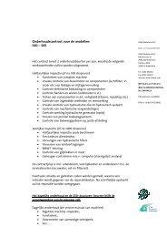S40-45 2 beurten - HDW Nederland B.V.