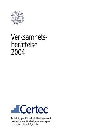 pdf - format - Certec - Lunds Tekniska Högskola