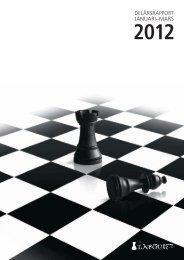 Delårsrapport januari-mars 2012 467 KB - Investment AB Latour