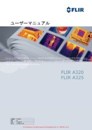 FLIR Systems. All rights reserved. Post-assigned publ. no.: T559146 ...