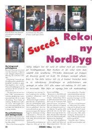 Nyheter från Nordbygg-mässan - Novator