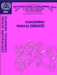 Explotación Sexual Comercial Infantil. Cuadernos para el Debate ...