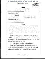 Case 1:04-cv-01194-TFH Document 651 Filed 11/18/2009 Page 1 of 8