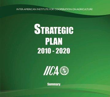 2010 – 2020 Strategic Plan - Instituto Interamericano de ...