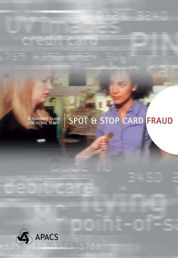 spot & stop card fraud - Devon & Cornwall Police