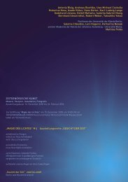 invitacion magie 29_11.indd - INTERNATIONALES FORUM