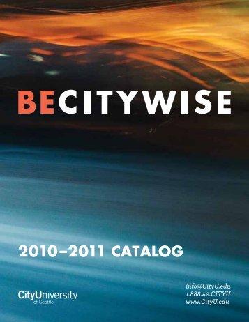 CityU Catalog