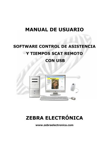 Manual software Scat remoto con usb.pdf - Zebra Electronica