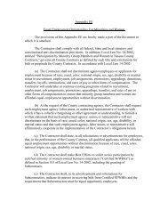 Appendix EE Equal Employment Opportunities For Minorities and ...