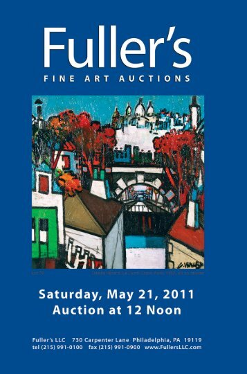 Download Print Catalog - Fuller's Fine Art Auctions