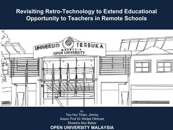 Revisiting Retro-Technology to Extend ... - Open University Malaysia