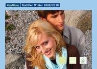 HanfHaus Textilien Winter 2009/2010