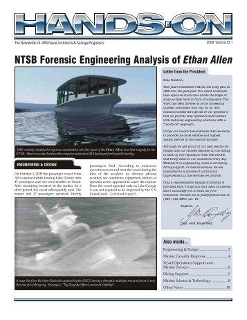 NTSB Forensic Engineering Analysis of Ethan Allen - JMS Naval ...