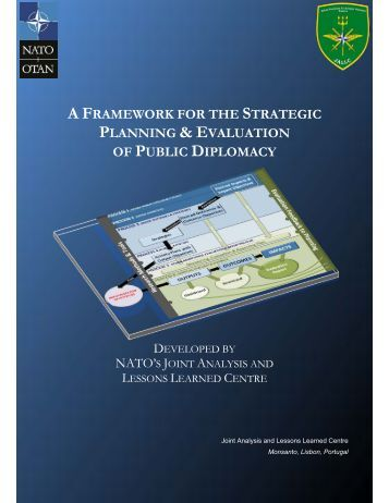 a framework for the strategic planning & evaluation of public diplomacy