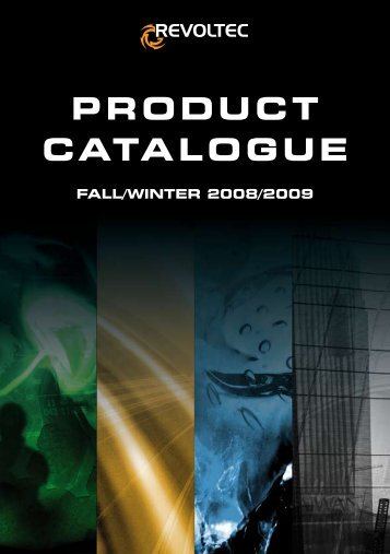 ProduCt Catalogue - Revoltec
