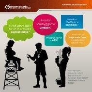 Hvordan forebygger vi ulykker? - BAR - service og tjenesteydelser.