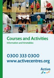 Active Mind - Active Centre