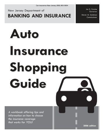 Buyers Guide - NJ Car Insurance