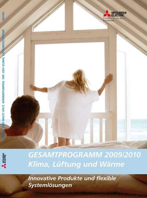 GESAMTPROGRAMM 2009/2010 Klima, Lüftung und ... - Klimaprof