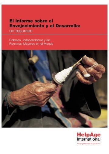 El Informe sobre el Envejecimiento y el Desarrollo: un resumen