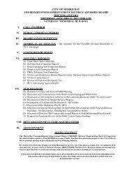 city of morro bay tourism business improvement district advisory ...