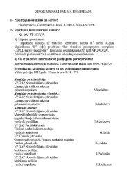 ZIŅOJUMS PAR LĒMUMA PIEŅEMŠANU 1 ... - Valsts policija