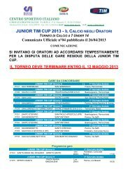 JUNIOR TIM CUP 2013 - I - CSI Parma