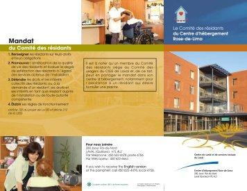 Rose-de-Lima-17 sept FR - Centre de santé et de services sociaux ...
