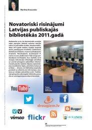 Novatoriski risinājumi Latvijas publiskajās bibliotēkās ... - Academia