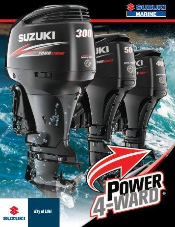 2012 Suzuki Marine Outboard Catalog