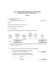 Form G - Haier Electronics Group Co., Ltd.