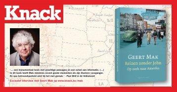 Exclusief interview met Geert Mak op www.knack.be/mak
