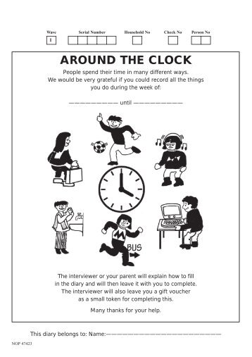 Around the Clock, Child Diary