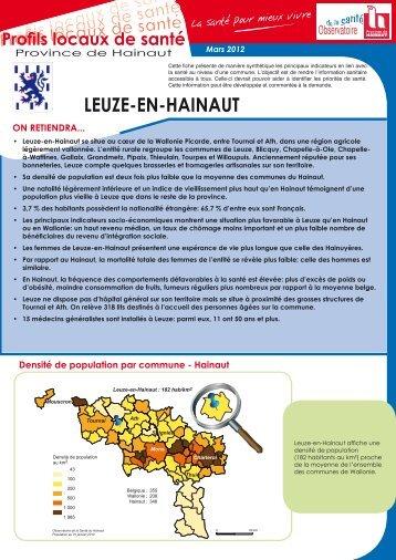 LEUZE-EN-HAINAUT - La Province de Hainaut